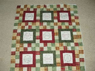 Judy's Christmas Quilt