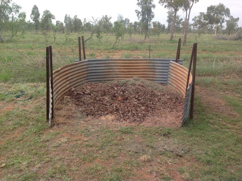 Mulch pit