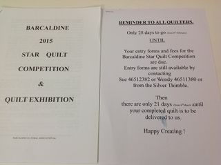 Quilt competition