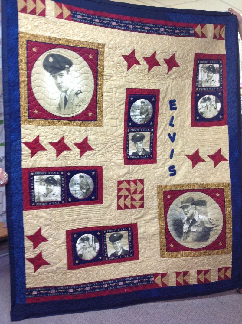 Elvis quilt